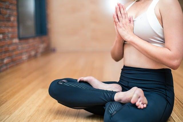 salle de yoga à la maison
