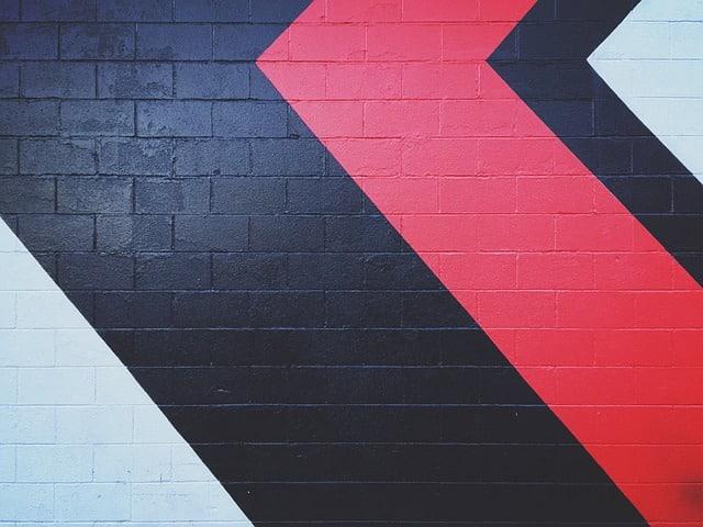 un mur géométrique