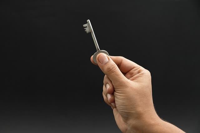 clé d'un locataire