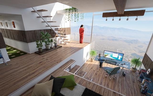 bureau à domicile magnifique