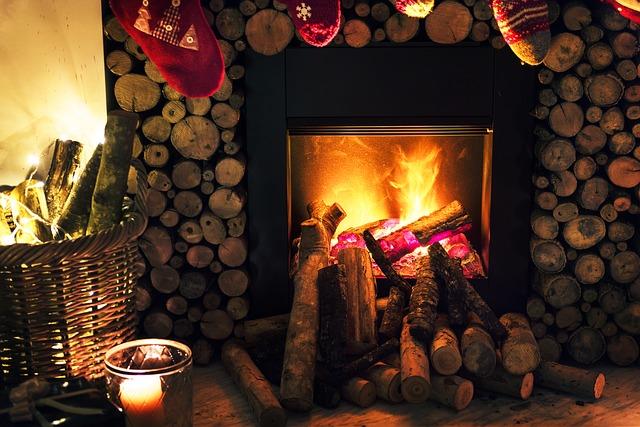 cheminee rustique