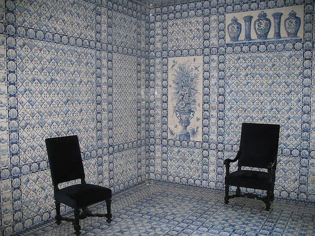 murs de faience