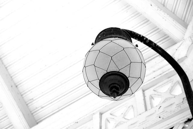 boule japonaise plafond