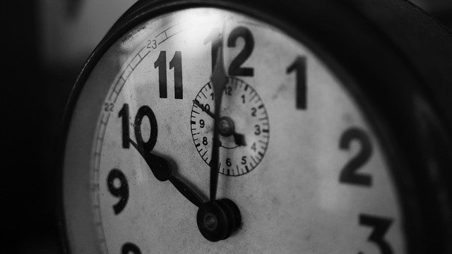 grande horloge vintage