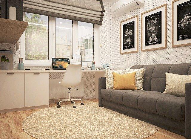 chaise dans un bureau