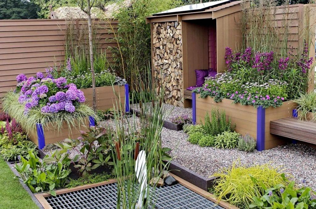 magnifique jardin écologique